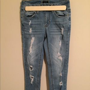 Rue21 Jeans - Distressed skinny jeans